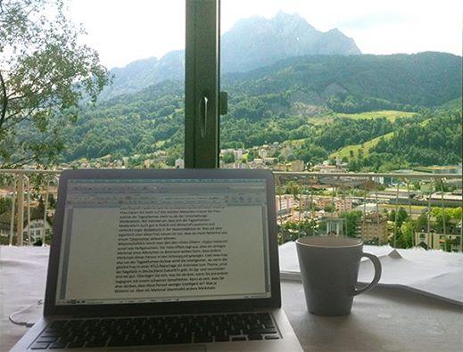 Schreib-Aussicht